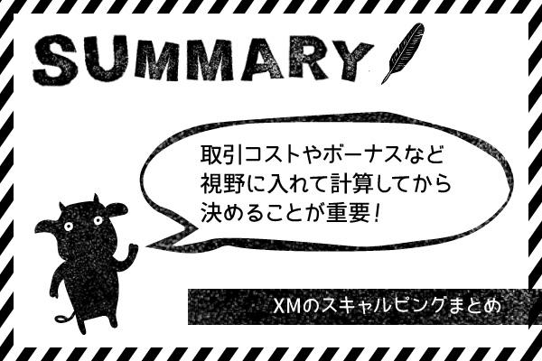 XM(XMTrading)のスキャルピングまとめのアイキャッチ画像